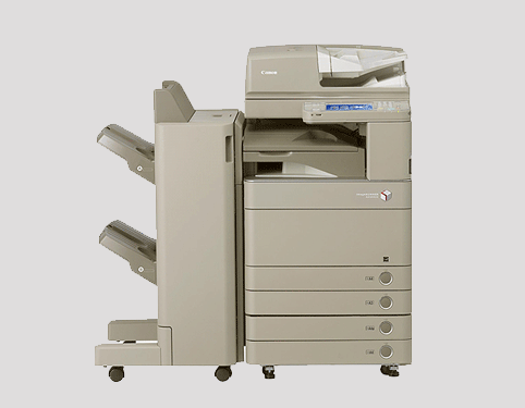 canon imagepress c5000 all in one printer lease rental manchester burnley blackburn preton