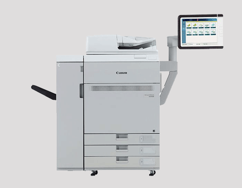 canon imagepress c650i all in one printer lease rental manchester burnley blackburn preton